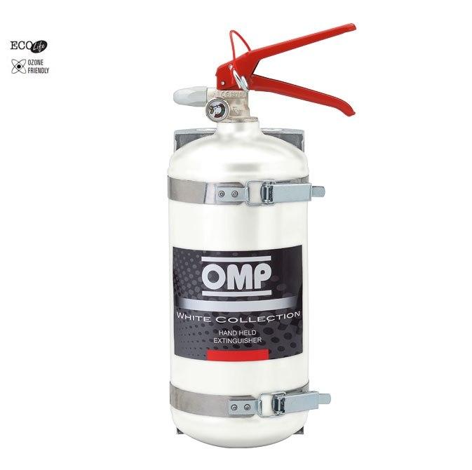 Gaśnica OMP White Collection (CBB/351) - GRUBYGARAGE - Sklep Tuningowy